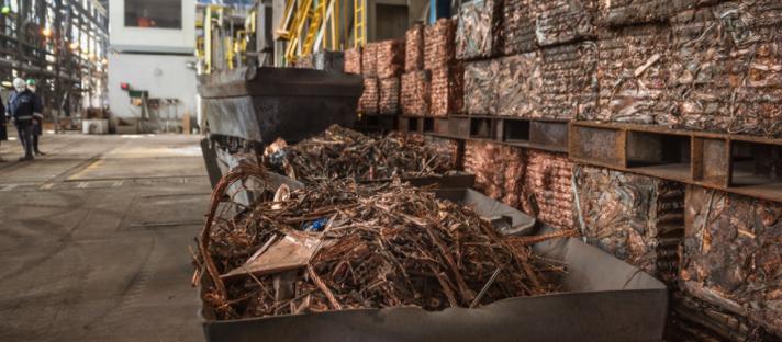 Fluxo recorde na reciclagem do cobre este ano não compensará o déficit do metal