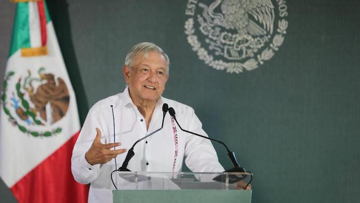 O presidente mexicano disse que as mineradoras não podem se recusar a pagar impostos