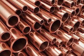 Importações de cobre da China em baixa de seis meses