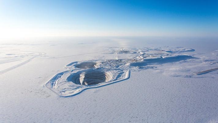 A produção de diamantes da Rio Tinto está estável, apesar da covid-19