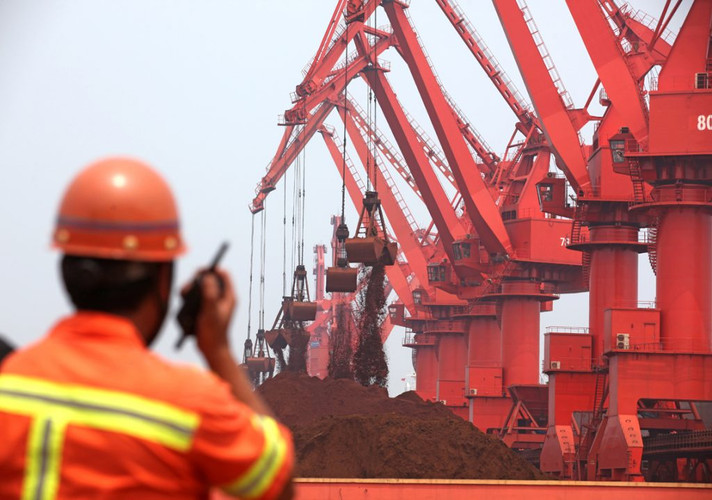 Embarques de minério de ferro do Brasil e da Austrália atingem recorde em 2020