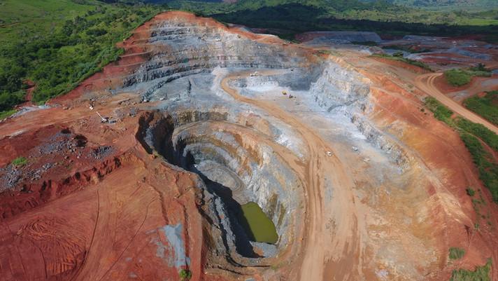 Mina Antas Norte - Pará, Brasil: TOP-5 em alto teor de cobre.