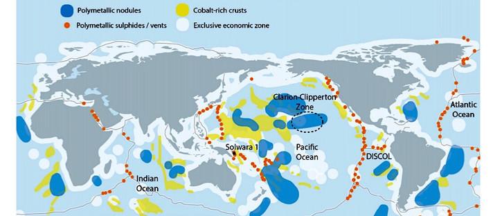Especialistas pedem plano para proteger a vida em alto mar da mineração