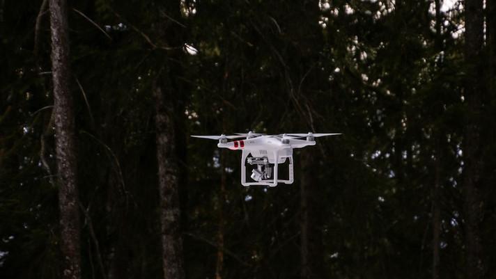 'Drone Hunter' que voa à noite pode ser usado para encontrar depósitos de pedras preciosas