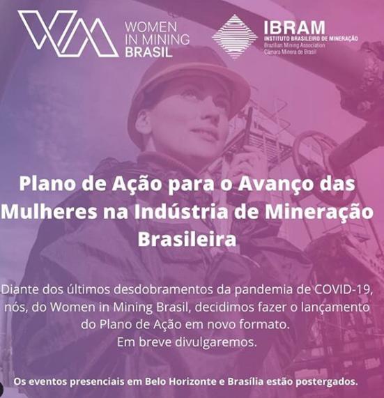Mulheres na Mineração - Women in Mining Brasil lança Plano de Ação