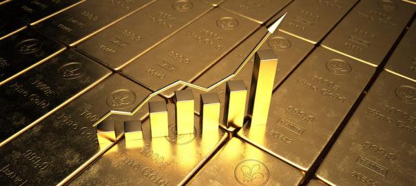 Os preços do ouro atingem US $ 2000 / oz