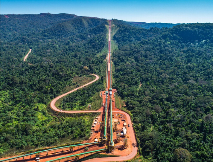 Vale segue em frente com expansão de minério de ferro da Serra Sul