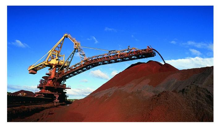 Exportações de minério de ferro do Brasil atingem maior nível desde 2015