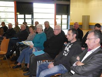 Les élus du collège Centre-Ouest-Bretagne réunis à Plounévez-Quintin