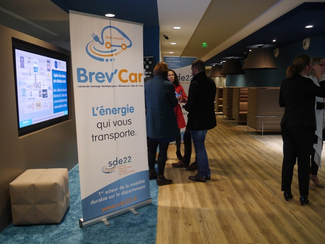 Le réseau Brev'Car présenté au siège du Crédit Agricole