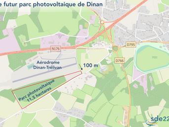 Une centrale photovoltaïque en projet à Dinan