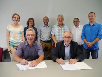 Le SDE 22 et l'Alec signent une nouvelle convention de partenariat