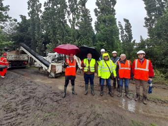 Jugon-les-Lacs : renouvellement du réseau électrique