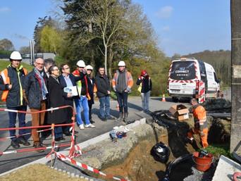 La Méaugon : Enedis et le SDE 22 modernisent le réseau électrique