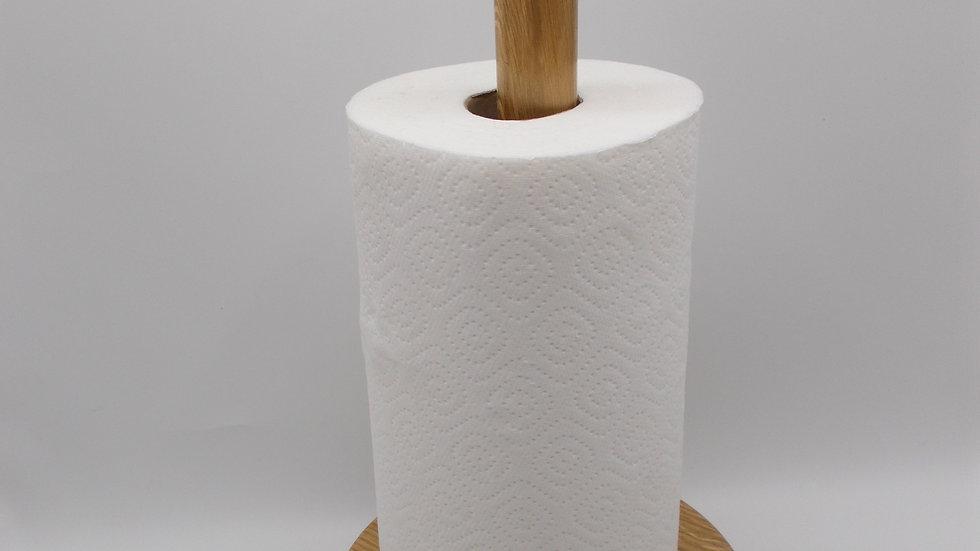 Plain Oak Kitchen Roll holder