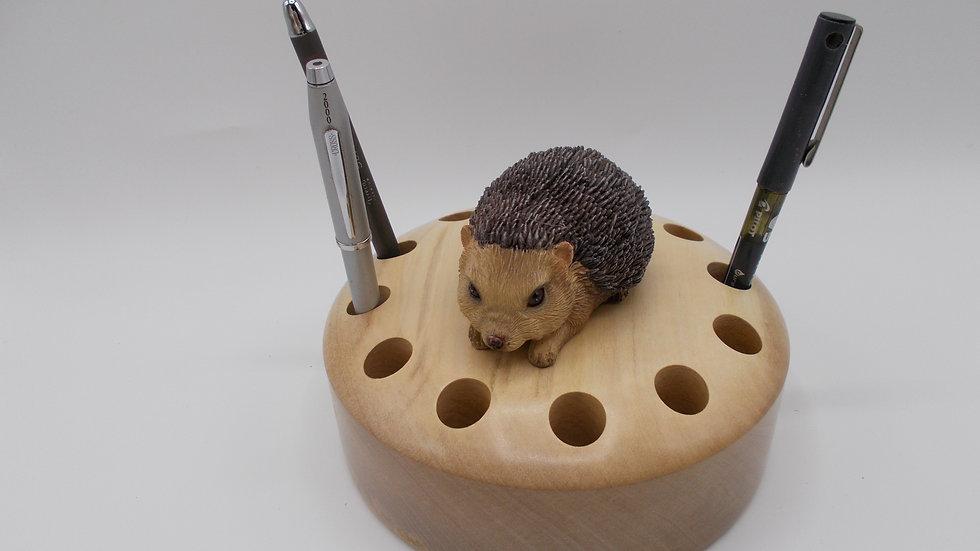Pen Holder with Hedgehog