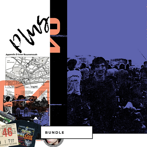 BUNDLE CADERNO (MOLESKINE) + LIVRO 84: o álbum inglês