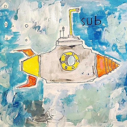 Sub (paper) 11x14