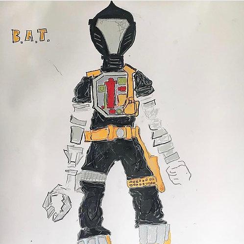 B.A.T GiJoe (paper) 36x24