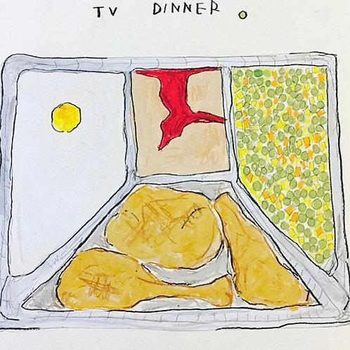 Tv dinner (paper) 11x14