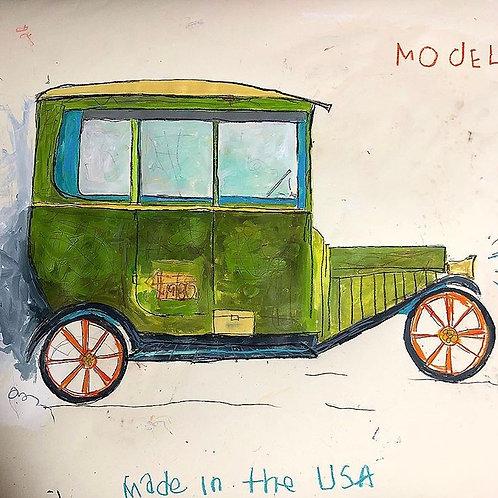 Model-T 36x24 paper