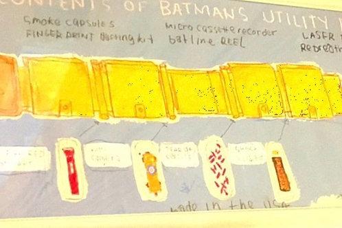 Batman Utility Belt (paper) 36x12