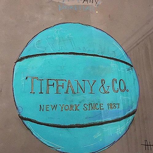 Tiffany Basketball 16x20