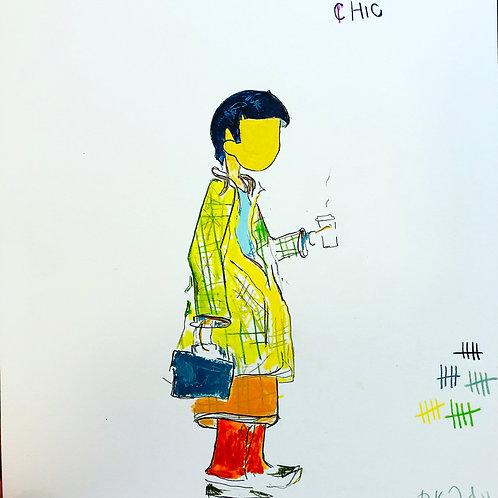 Chic 11x14 paper