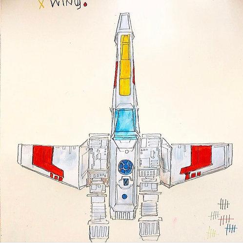 X-Wing 16x20