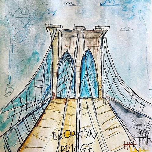 Brooklyn Bridge 8x10 paper