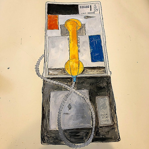 Pay Phone 36x24 paper