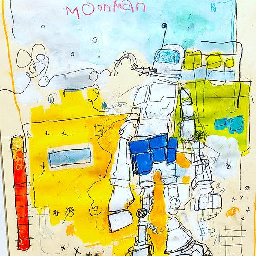 MoonMan (paper) 36x24