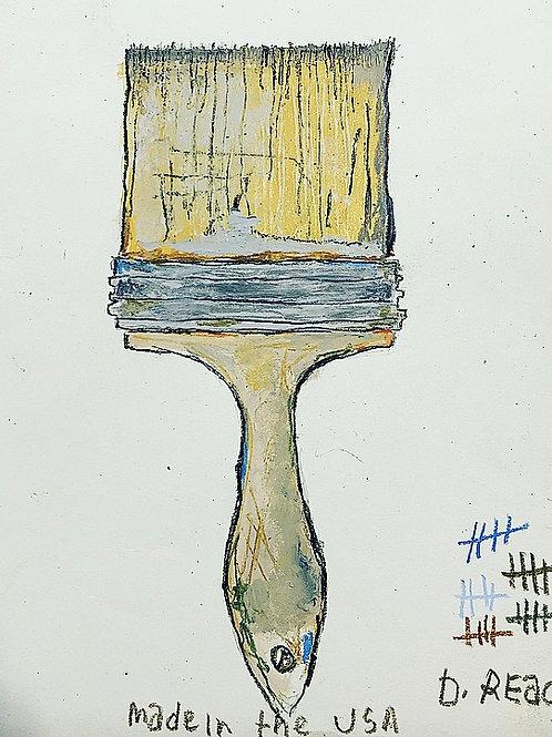 Paint Brush (paper) 8x10