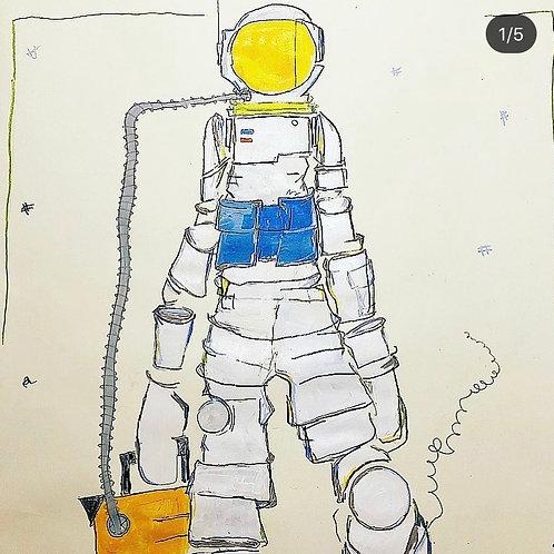 Moonman 36x24 (paper)