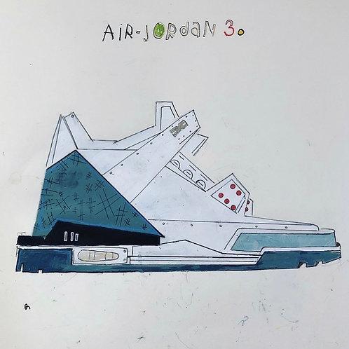 Air Jordan 3 16x20