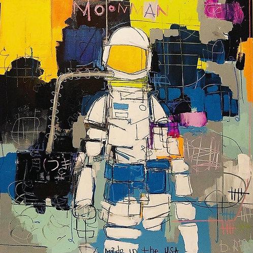 Moonman canvas 30x40