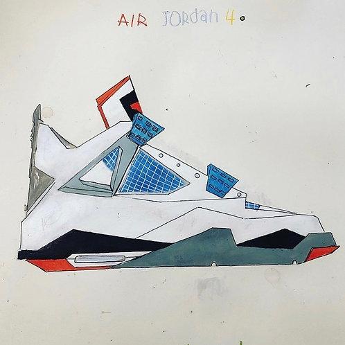Air Jordan 4 16x20