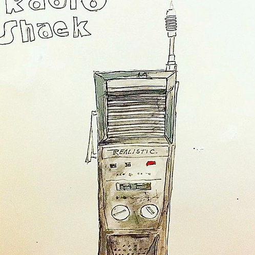 Radio Shack (paper) 11x14
