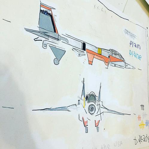 Plain Plane Transformers #paper 18x24