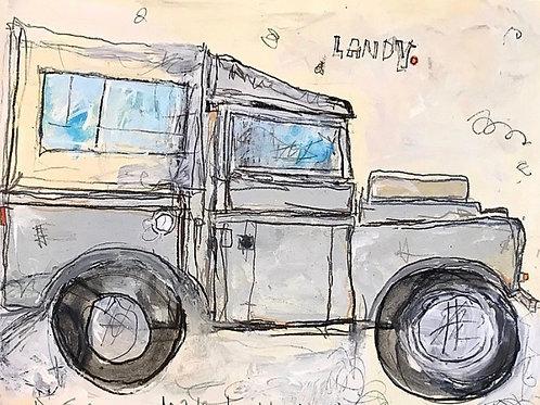 Landy Grey 8x10