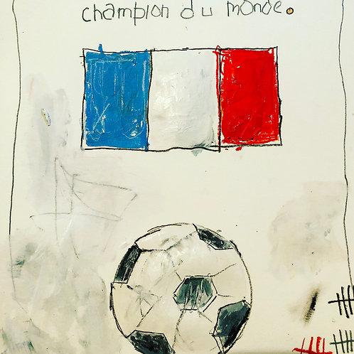 Champion Du Monde (paper) 11x14