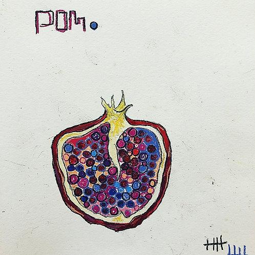 Pom (paper) 8x10