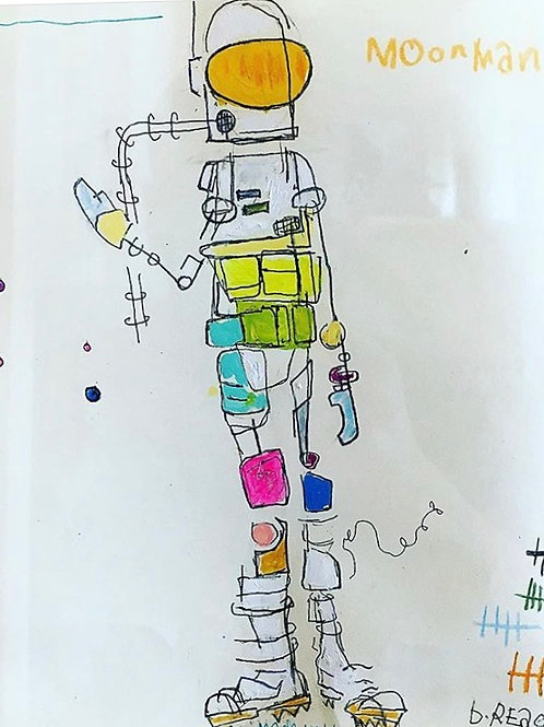Moonman (paper) 8x10