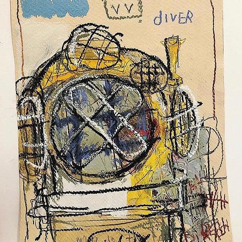 Diver 8x10 (paper)
