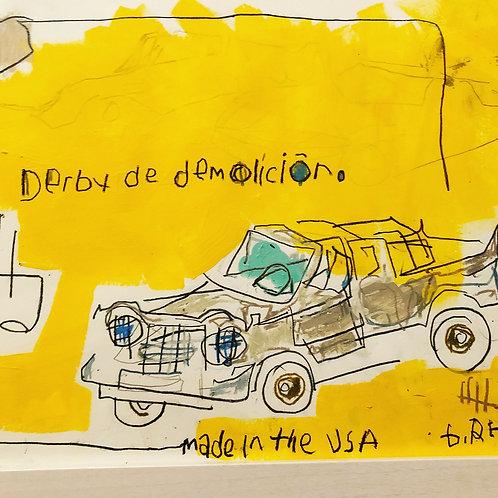 Derby de Demolicion (paper) 11x14