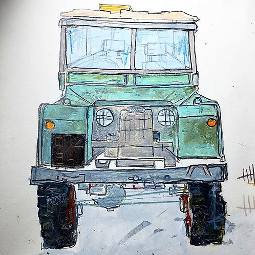 Landrover 8x10 (paper)