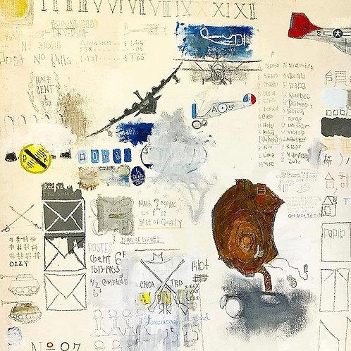 Boyscout (canvas) 37x32