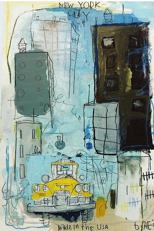City/Taxi 11x17 paper