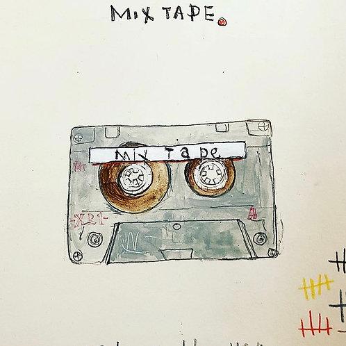 MixTape 8x10 paper