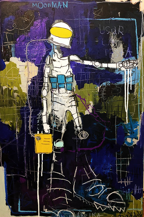 Moonman canvas 36x24